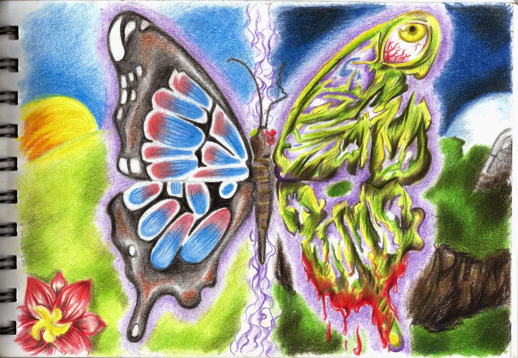 Zombie Butterfly